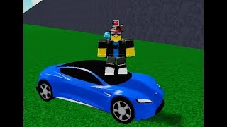 BUYING THE TESLA ROADSTER IN ROBLOX VEHICLE TYCOON!