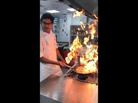 Flambe / Flames Without Alcohol