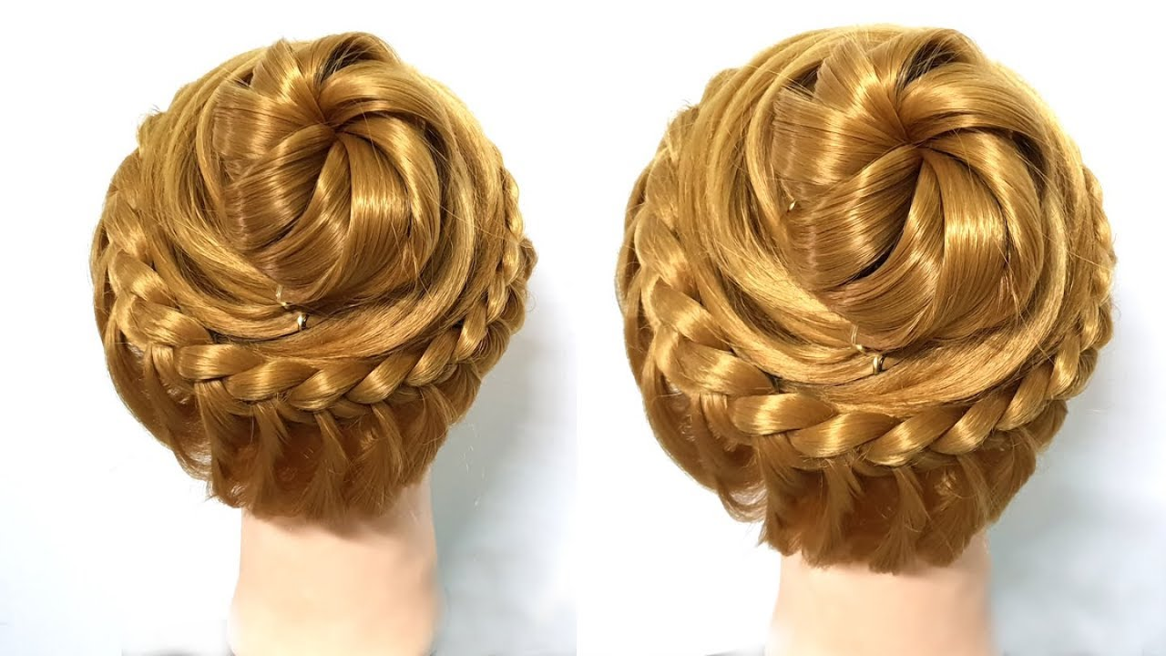 Simple Hairstyle for Girls 2018 ★ Beautiful Hairstyle for Party/Wedding/Function ★ Hair style ...