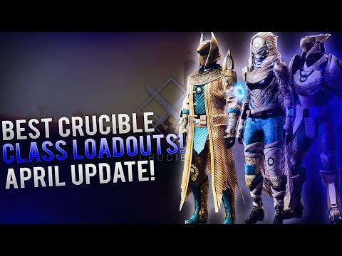 Destiny - My Best Crucible Class Setups, Weapons, Armor, Perks & Exotics for Crucible (April Update)