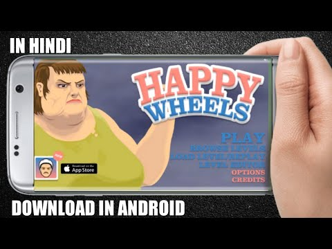 How To Download Happy Wheels On Android In Hindi/ Android Me Happy Wheels Kaise Download Kare