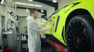 Lamborghini Aventador SV, in Verde Scandal done by Reep Detailing
