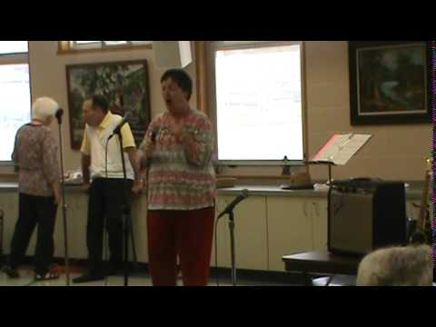 September Monthly Luncheon Karaoke Cavalcade #6   Give My Regards to Broadway Group Sing along by Je