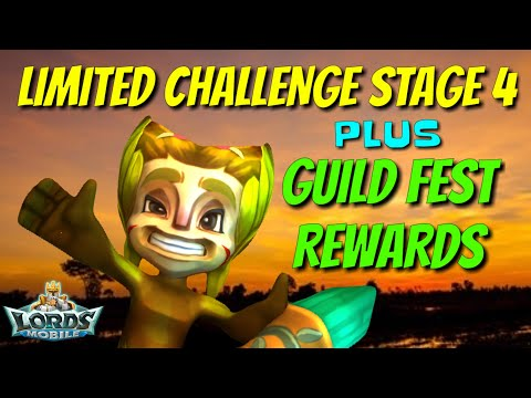 Limited Challenge Stage 4 Grove Guardian - Lords Mobile