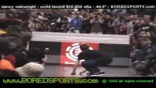 skateboarding rodney mullen, highest ollie ever