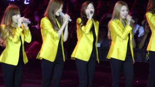 [Fancam] 140802 SNSD Best Of Best In HK - Goodbye (Jessica focus) - Stafaband