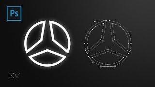 Система для графического дизайнера (лого Mercedes)