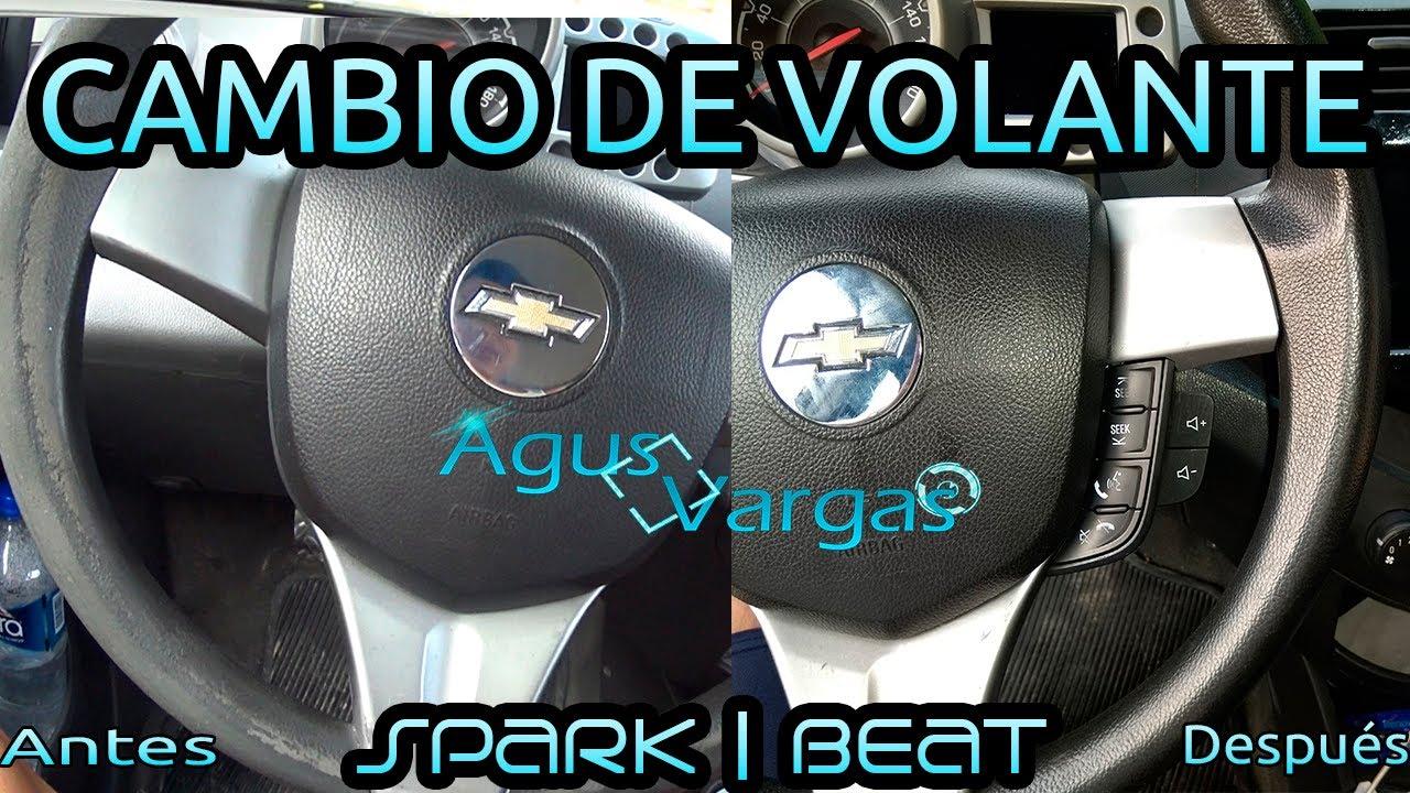 COMO CAMBIAR EL VOLANTE DEL SPARK/BEAT | Agus Vargas