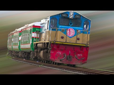 Sonar Bangla Express runs with PT INKA made Rake & EMD Locomotive