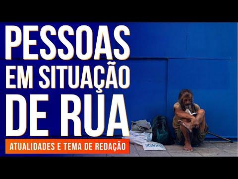 PESSOAS EM SITUAÇÃO DE RUA NO BRASIL | Atualidades E Temas De Redação Para O Enem