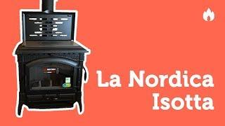 Видеообзор - отопительно варочная печь Nordica Isotta...