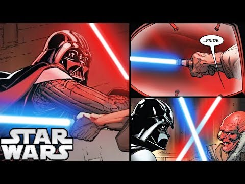 Darth Vader FINALLY FIGHTS the JEDI Who Knows He's ANAKIN! (CANON) - Star Wars Comics Explained