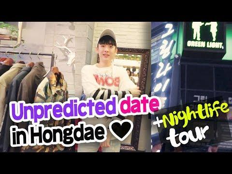 Korea Vlog 2017 // Seoul nightlife | How to date in Hongdae // 홍대 데이트 했다.
