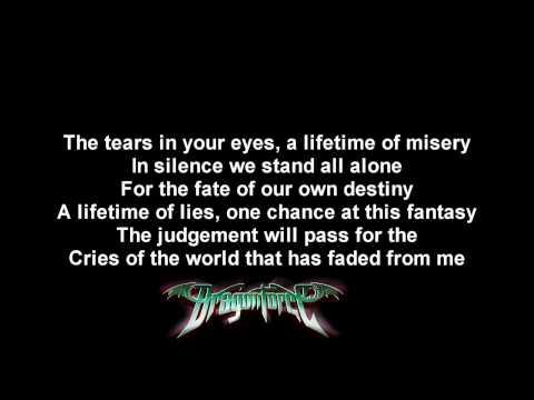DragonForce - The Fire Still Burns | Lyrics on screen | HD