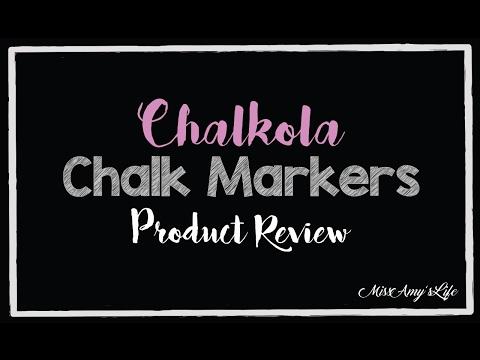 chalkola-chalk-marker---product-review!