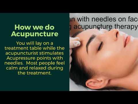 Acupuncture in Wrexham treatments
