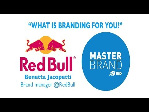 """What is Branding for you?"" #1 - RedBull Brand Manager B.Jacopetti,"