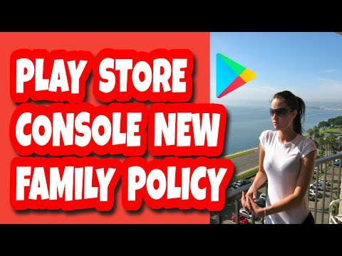 New Google Play Policies (Sep Update) Play Store Console Family Policy