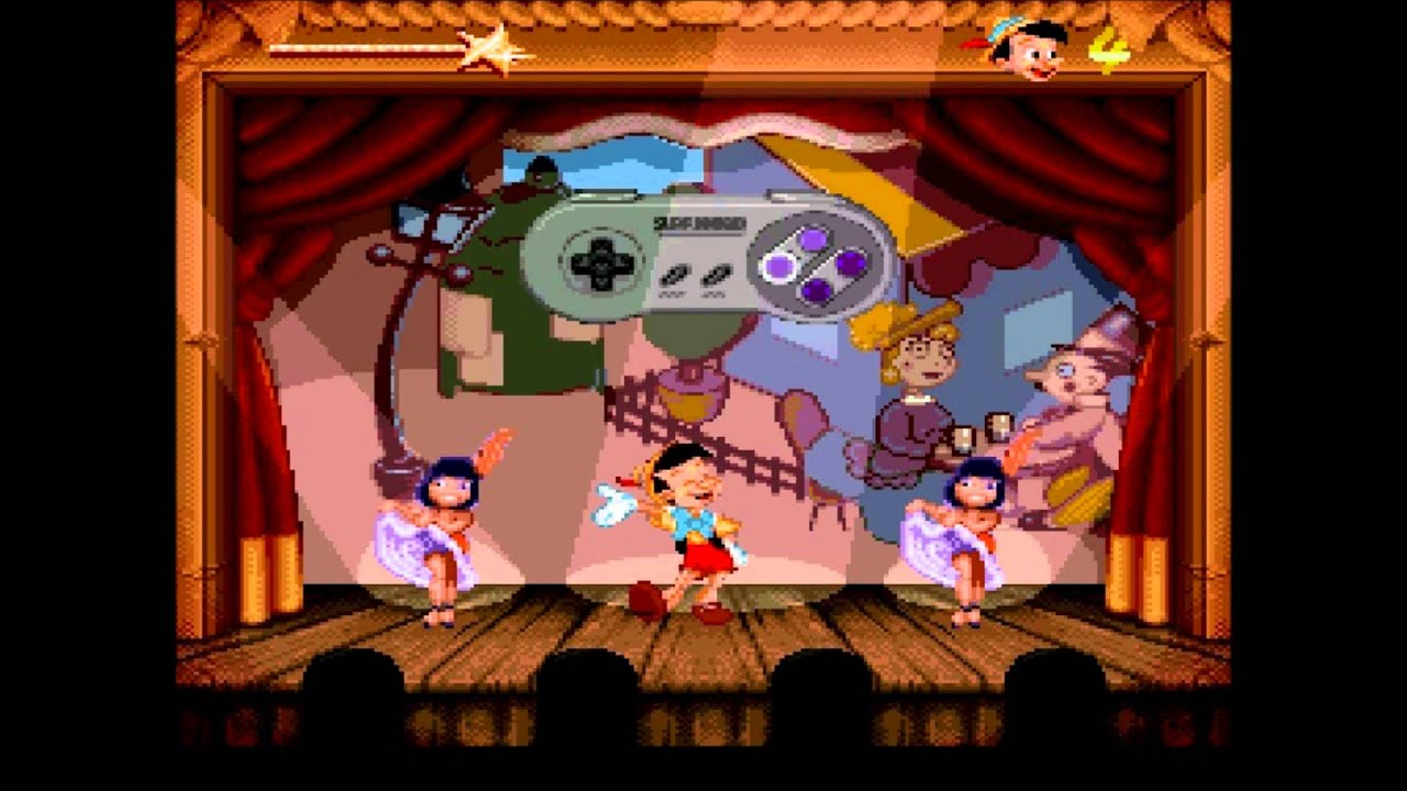 Image result for Pinocchio SNES dance