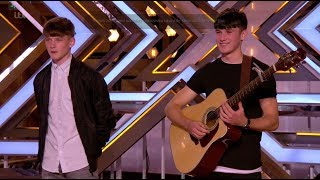 Sean  Conor Brothers Deliver One Of The BEST Auditions EVER  The X Factor UK 2017