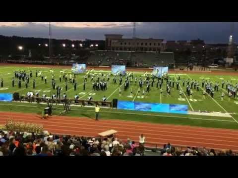 James Clemens Marching Band at the Peach State Marching Festival, 25 Oct 2014
