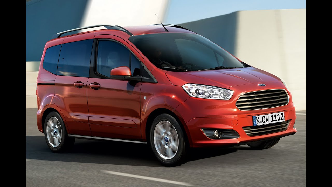 Ford Tourneo Courier im Test / Fahrbericht 2014 - YouTube