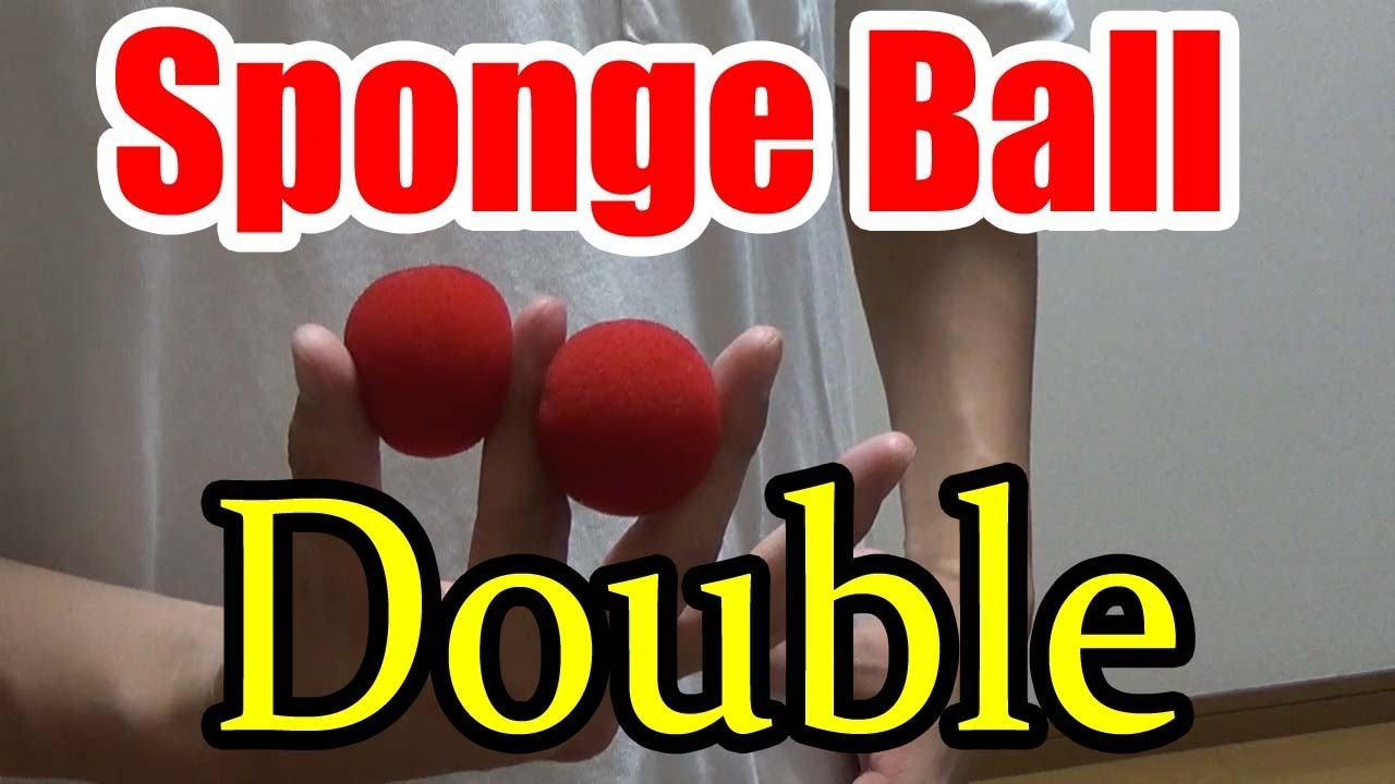 how to do the sponge ball magic trick