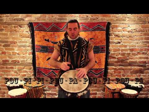 Cours 4/12 - Rythme Makuru ou Macru - Djembé Bourema - École de Percussion Zuruba