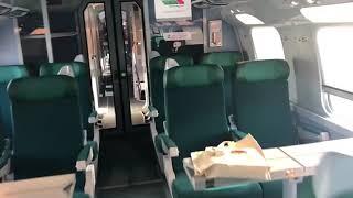 """حصري : شاهد القطار فائق السرعة """"تي جي في"""" من الداخل"""
