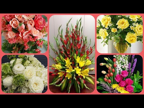 how-to-make-most-beautiful-flower-arrangement-in-bouquet