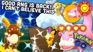 Amazing shiny RNG is back in Pokemon GO   New best buddys