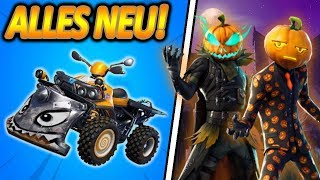 WTF... BALD NEW QUAD-RAMME FAHRZEUG!😱🔥 | NEW PEST & GEISSEL SKIN! | Fortnite Battle Royale