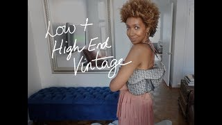 HOW TO STYLE VINTAGE BAGS | MY VINTAGE BAG COLLECTION! | COLLAB WITH MELSOLDERA!!!! thumbnail