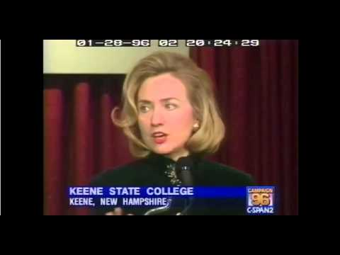 "Hillary Clinton on ""Superpredators"""