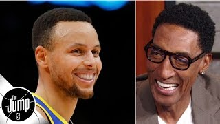 We'll never see another player like Stephen Curry - Scottie Pippen | The Jump