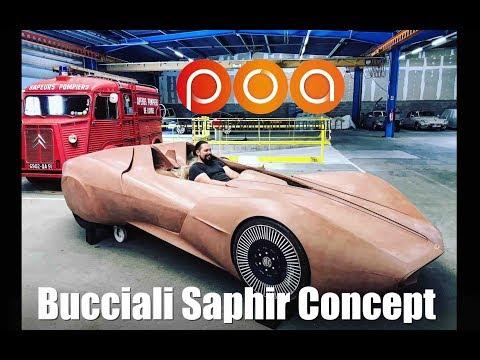 Hommage à Bucciali : Saphir concept, la voiture qui chante