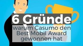 6 Gründe, warum die Casumo App den Best Mobil Award gewonnen hat #Casinotest