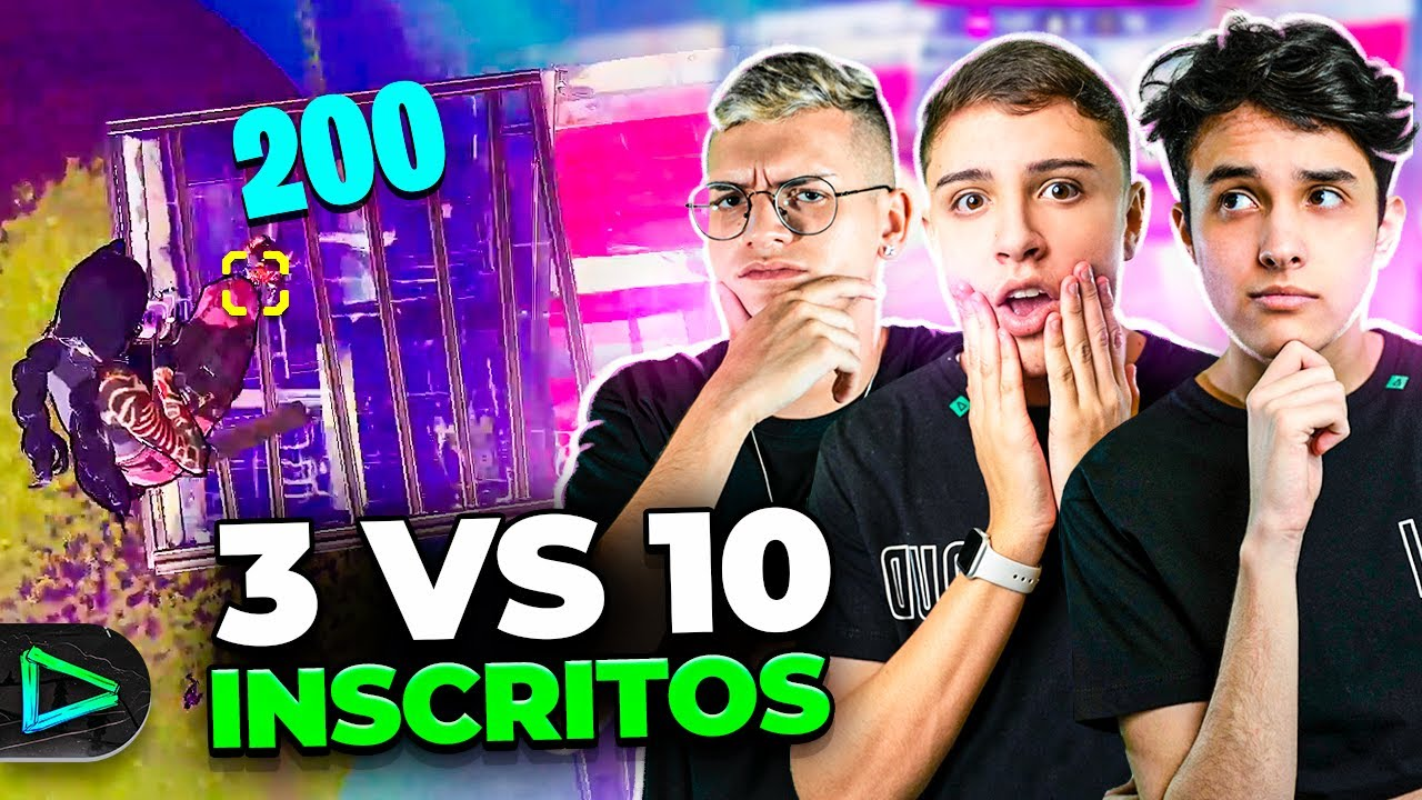 OS INSCRITOS NOS DESAFIARAM NA LOUD FORTNITE!!