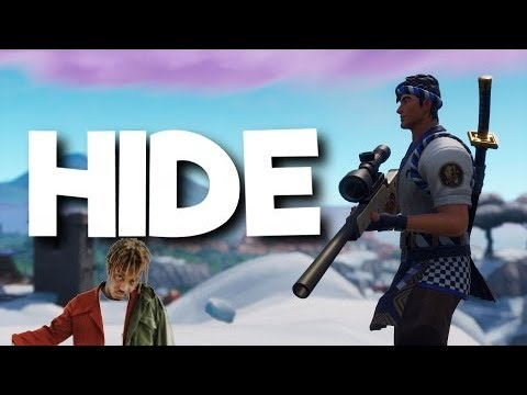 HIDE - Fortnite Montage Juice WRLD & Seezyn  Soundtrack of Into the Spider-Verse