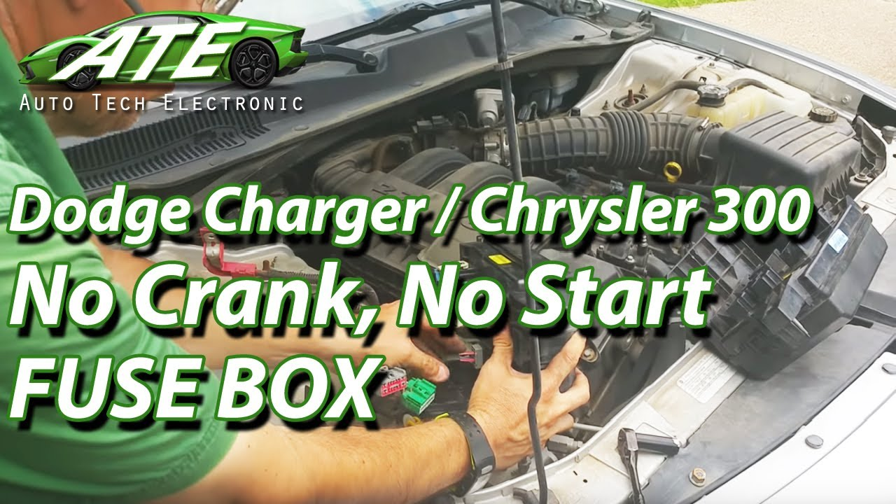 2008 2009 2010 Dodge Charger Chrysler 300 Fuse Box Youtube Car With Integrated Battery Auto Tech Electronic