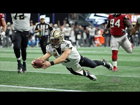 Every Drew Brees Rushing Touchdown Since 2007