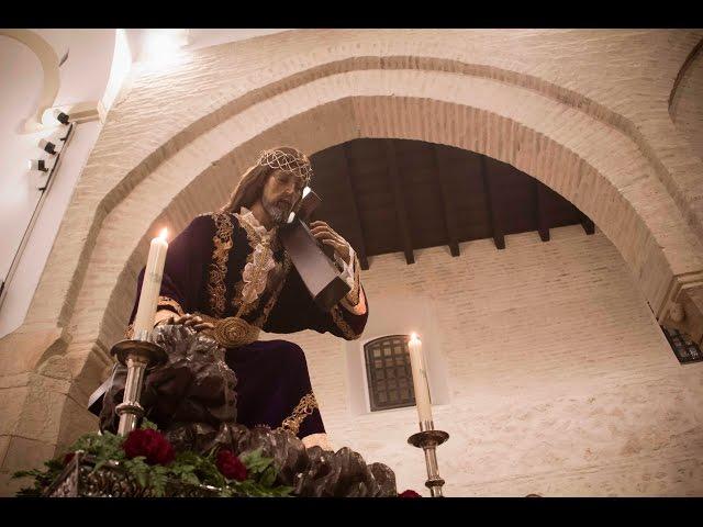 VÍDEO: Las imágenes del Vía Crucis de Ntro. Padre Jesús Caído en la parroquia de Santiago