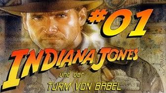 Let's Play Indiana Jones und der Turm von Babel (Deutsch) [Blind] #01 - Ungestört im Canyon