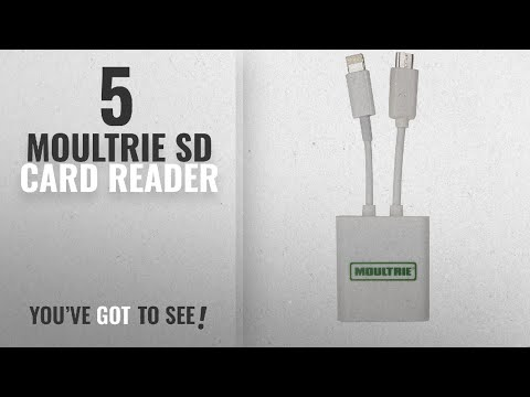 Top 10 Moultrie Sd Card Reader [2018]: Moultrie Smart Phone SD Card Reader