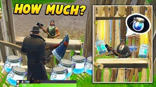 I made a FORTNITE SHOP and sold LOOT to other players.. (Fortnite Battle Royale)