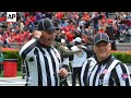 College football officials facing greater scrutiny