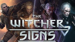 What Are The Witcher Signs?  - Witcher Lore - Witcher Mythology - Witcher 3 lore
