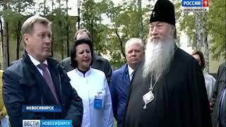 В Новосибирске на территории горбольницы построят церковь