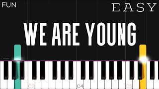 How To Play We Are Young Fun LetterNotePlayer - مهرجانات