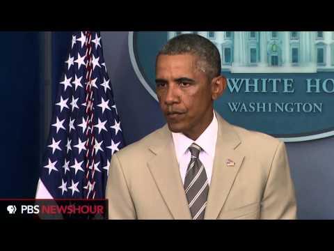 President Obama talks Middle East, Islamic State